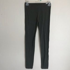 Green SO leggings workout pants full length